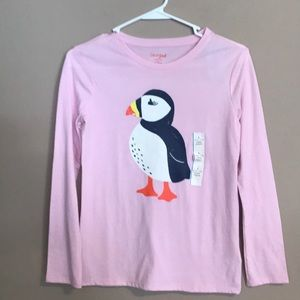NWT Cat & Jack Toucan Long Sleeve Shirt -L